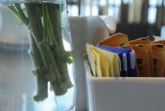Leisurely afternoon tea time Stock Photos