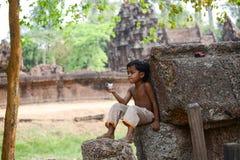 Leisurely boy Stock Photography
