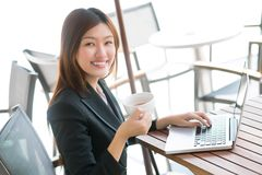 Leisurely work stock images