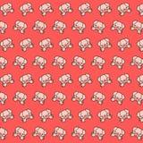 Leitão - teste padrão 24 do emoji ilustração do vetor