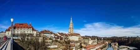 Leitartikel: Am 25. Februar 2017: Bern, die Schweiz Alte Mitte von Stockbilder