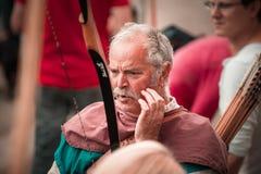 Leitartikel, am 14. Juni 2015: Chatenois, Frankreich: Party-DES Remparts d stockfotografie