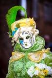 Leitartikel, am 4. März 2017: Rosheim, Frankreich: Venetianische Karnevals-Maske Stockbild