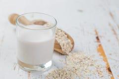 leite da Não-leiteria - aveia Imagens de Stock Royalty Free