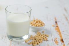 leite da Não-leiteria - soja Imagens de Stock Royalty Free