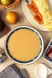 Leite do arroz e do amendoim Imagens de Stock