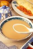 Leite do arroz e do amendoim Fotos de Stock Royalty Free