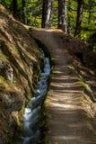 Leitenwaal, Tirol sul Foto de Stock Royalty Free