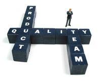 Leiter der Qualitätssicherung Lizenzfreie Stockbilder