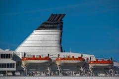 Leiter eines großen Seeschiffs Lizenzfreies Stockbild