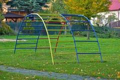 Leiter für Kinder im Park im Herbst Lizenzfreie Stockbilder