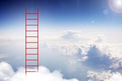 Leiter im Himmel Stockbilder