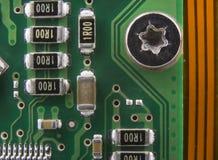 Leiterplatte, Computer componnt stockfotos