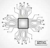 Leiterplatte-CPU Lizenzfreies Stockfoto