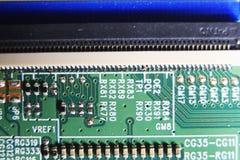 Leiterplatte, LED-Fernsehen lizenzfreie stockfotos