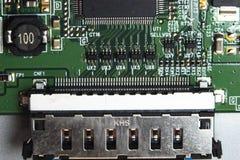Leiterplatte, LED-Fernsehen lizenzfreie stockfotografie