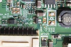 Leiterplatte, LED-Fernsehen stockfotos