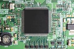 Leiterplatte, LED-Fernsehen Nahaufnahmedetail stockfoto