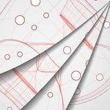 Leiterplatteabbildung. Lizenzfreie Stockfotos