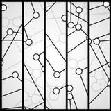 Leiterplattefahne für Ihr Design Lizenzfreie Stockfotos
