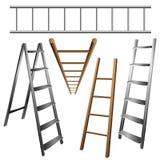 Leitersatz Stockbild