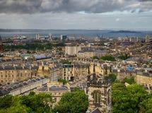 Leith district of Edinburgh Royalty Free Stock Photo