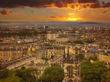 Leith district of Edinburgh Royalty Free Stock Images