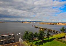 Leith Docks. Royalty Free Stock Photo