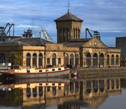 Leith Docks Building Edinburgh Royalty Free Stock Images