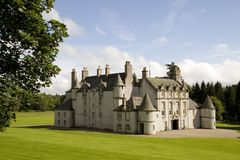 Leith Hall Castle, Scotland stock photography