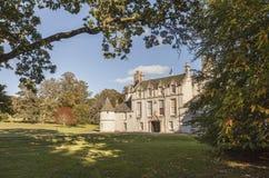 Leith Hall i Aberdeenshire, Skottland Arkivbild