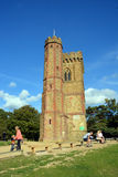 Leith Hill Tower on North Downs, Surrey, UK. Royalty Free Stock Image