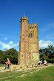 Leith Hill Tower sui bassi del nord, Surrey, Regno Unito Immagine Stock Libera da Diritti