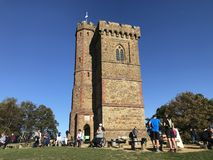 Leith Hill tower stock photo