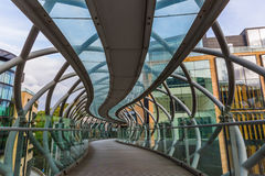 Leith Street Bridge in Edinburgh Royalty Free Stock Photography