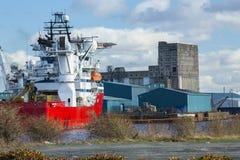 Leith Waterfront Development Area, Edinburgh royalty free stock photography