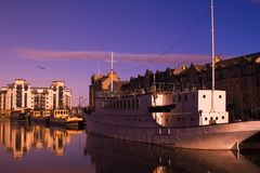 Leith Waterfront Reflection Royalty Free Stock Photo