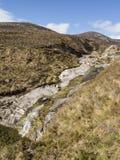 Leito fluvial seco Fotos de Stock