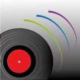 Leitor de cd da música Foto de Stock