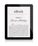 Leitor de Ebook ilustração royalty free