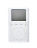 Leitor de mp3 2003 velho da geração 15Gb do clássico ó de Apple iPod fotografia de stock royalty free