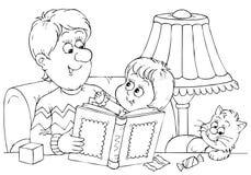 Leitores ilustração do vetor