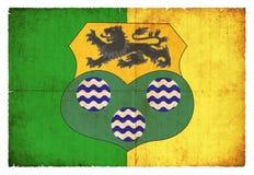 Leitrim爱尔兰难看的东西旗子  免版税图库摄影