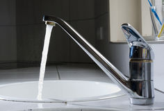 Leitungswasser Lizenzfreies Stockfoto