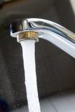 Leitungswasser Stockbild