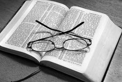 Leitura da Bíblia fotografia de stock royalty free