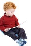 Leitura da criança Imagem de Stock