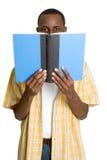 Leitura do estudante fotografia de stock