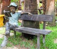 Leitura no jardim Imagem de Stock