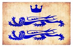 Lejon av Berkshire (Storbritannien) Royaltyfria Foton